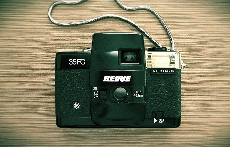 Фото обои фон, камера, Revue 35FC