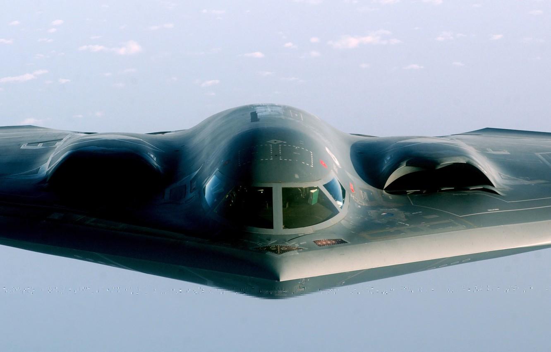 Обои стратегический, b-2 spirit, бомбардировщик, Northrop. Авиация foto 19
