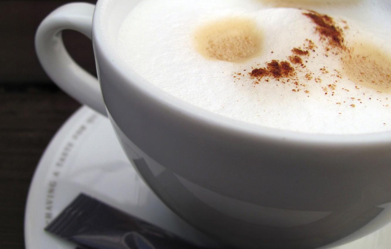 Фото обои Кофе, чашка, блюдце