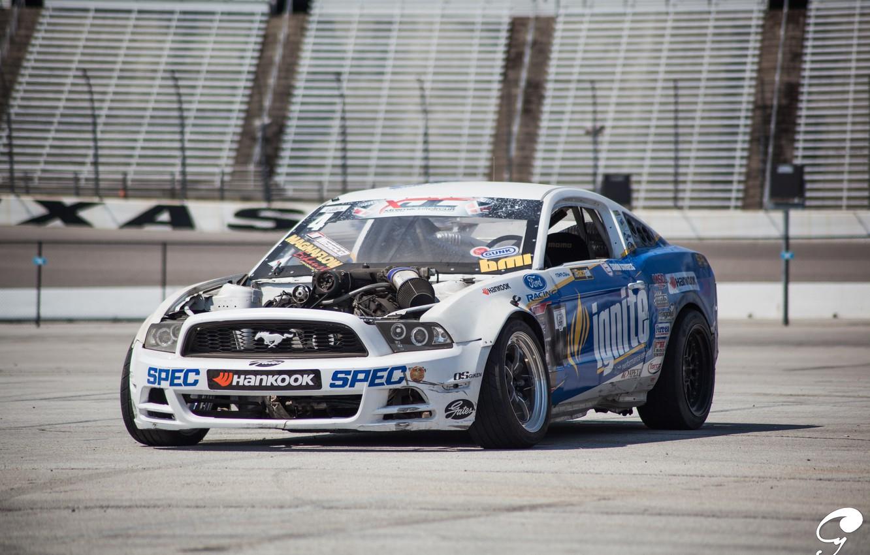 Фото обои Mustang, Ford, Форд, Мустанг, Formula D