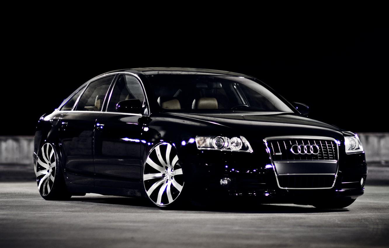 Фото обои Audi, black