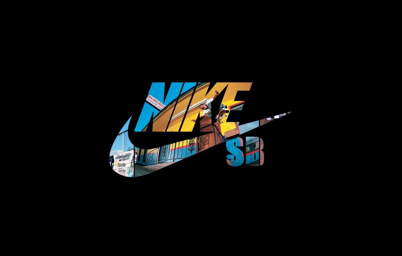 Фото обои логотип, фирма, nike, just do it