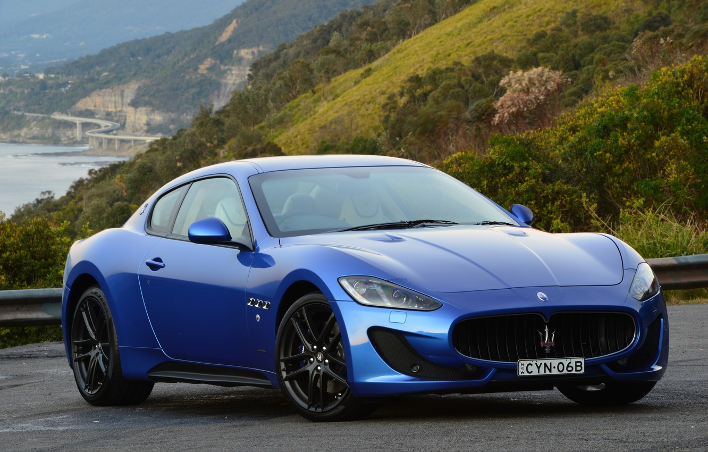 Фото обои Maserati, суперкар, GranTurismo, мазерати, Pininfarina, 2015, MC Sportline