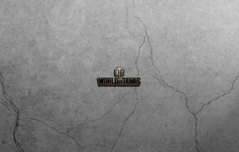 Фото обои world of tanks, WoT, logo wot