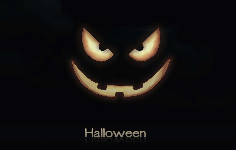 Фото обои улыбка, праздник, тыква, хэллоуин, halloween