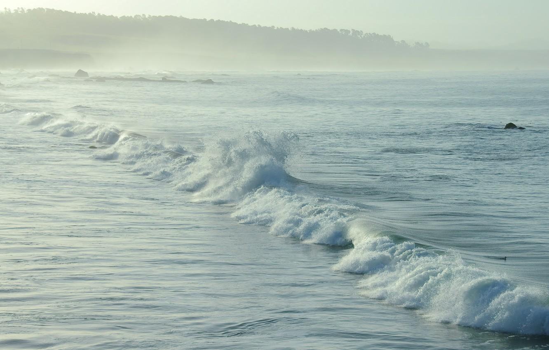 Фото обои море, волны, природа