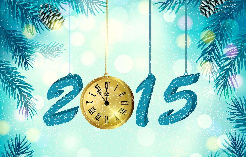 Фото обои креатив, работа, праздник, часы, новый год, фэнтези, арт, 2015