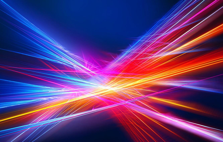 Обои лучи, свет, Цвет. Абстракции foto 6