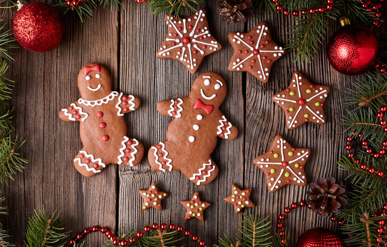 Обои decoration, рождество, xmas, cookies, Merry, christmas. Новый год foto 14