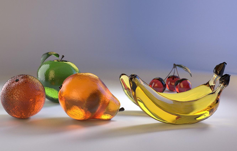картинки хрустальные фрукты