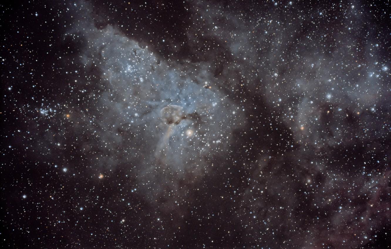 Фото обои космос, звезды, туманность, мироздание