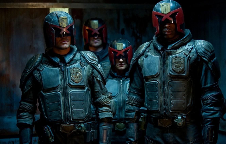 Фото обои Кино, 2012, Фильм, Судья Дредд, Movie, Judge Dredd, Dredd 3D