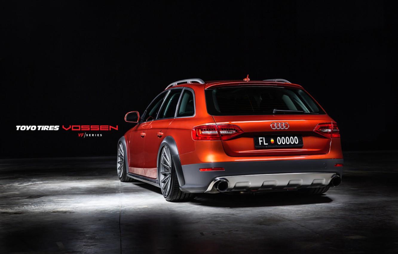 Фото обои Audi, Авто, Машина, Auto, Vossen, Wheels, корма