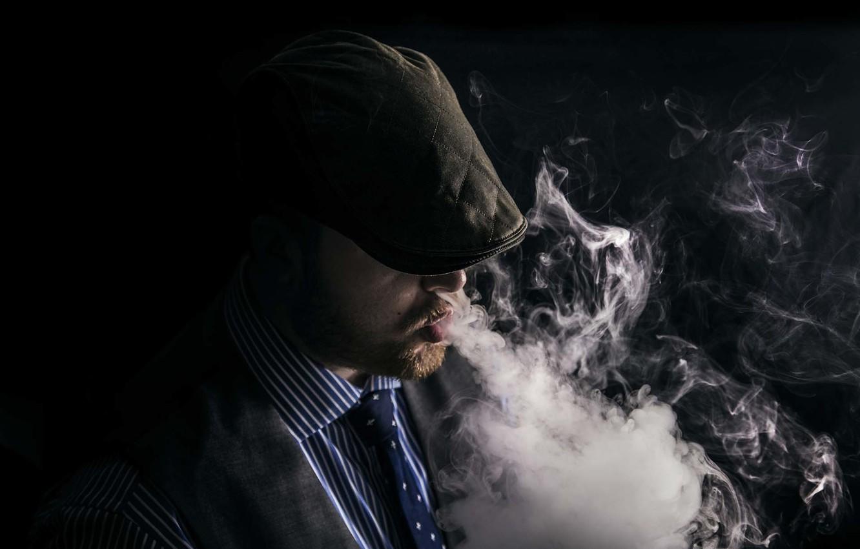 Картинки человек в дыму курить