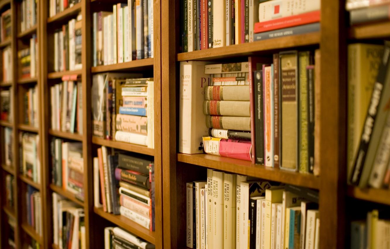 Обои библиотека, книги. Разное foto 10