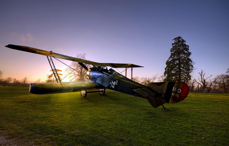 Обои Самолёт, Биплан. Авиация foto 14