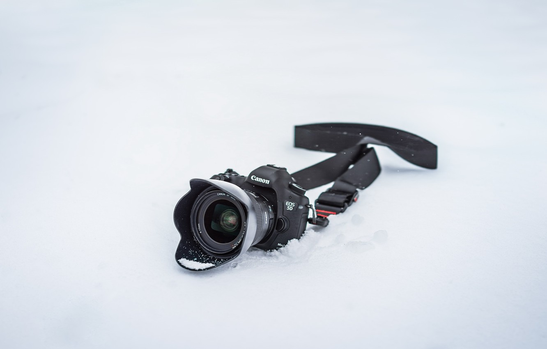 Фото обои фон, камера, canon