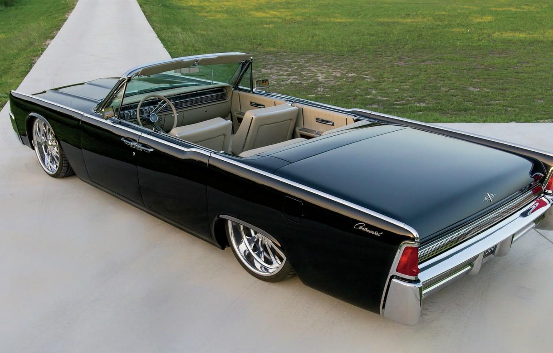 Фото обои Lincoln, Continental, Кабриолет, Линкольн, 1961