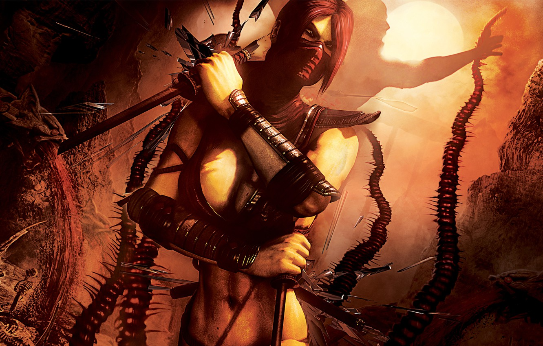 Обои Mortal kombat, персонажи, komplete edition. Игры foto 7