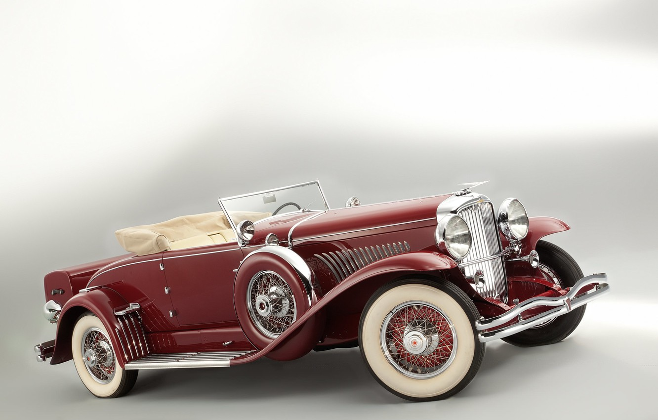 Фото обои Model, Coupe, retro, luxury, Convertible, Duesenberg, 1929, SWB, Murphy, J 219 2239
