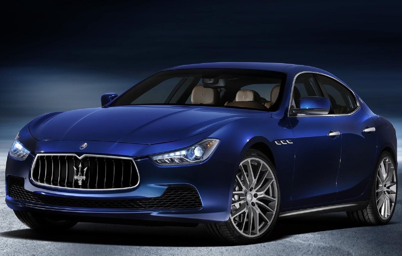 Фото обои Maserati, седан, Ghibli
