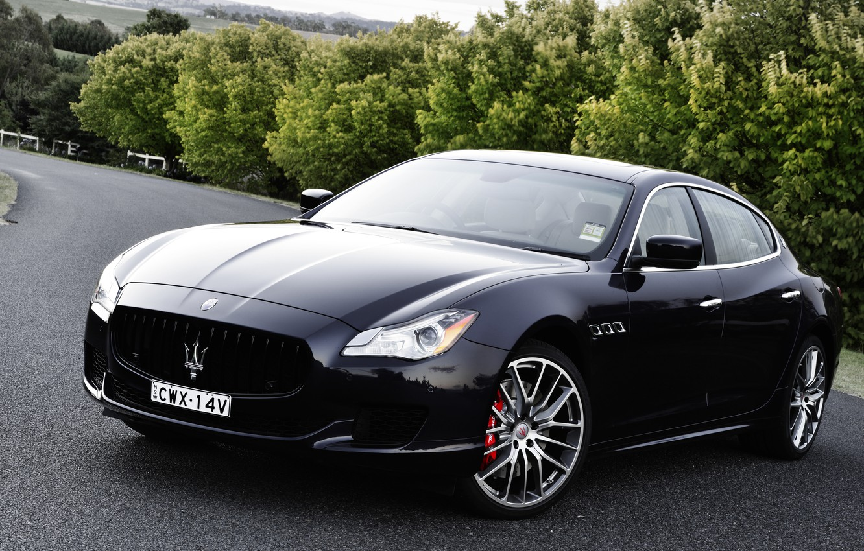 Фото обои Maserati, Quattroporte, мазерати, GTS, кватропорте
