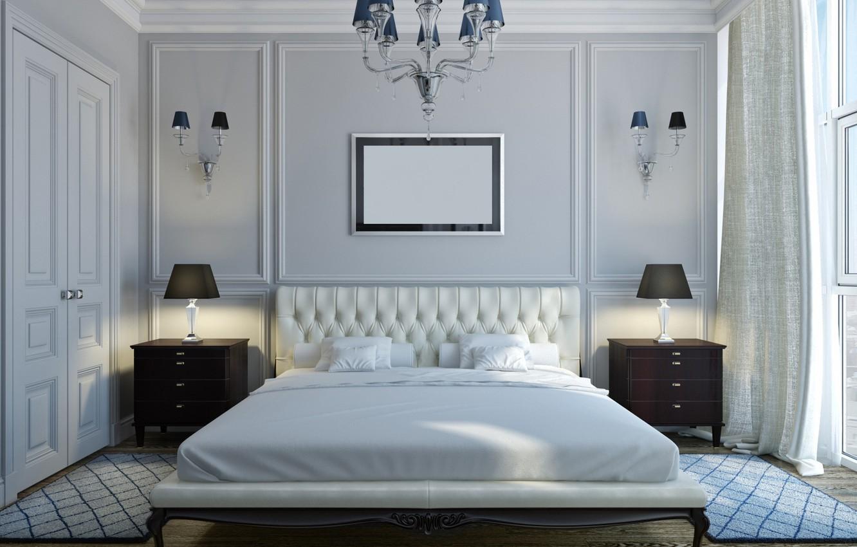 Фото обои дизайн, кровать, интерьер, спальня