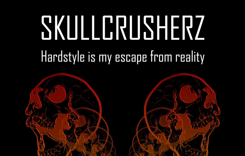Фото обои Музыка, Черепа, Skull, Hardstyle, SkullCrusherZ