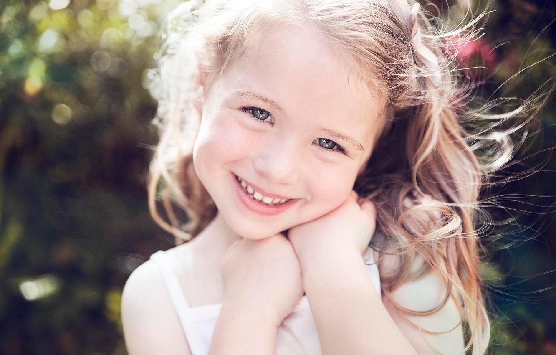 Обои улыбка, портрет, Девочка. Разное foto 13