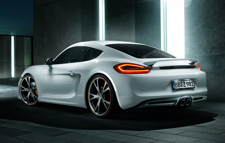 Обои Porsche cayman, Techart, car, тюнинг. Автомобили foto 9