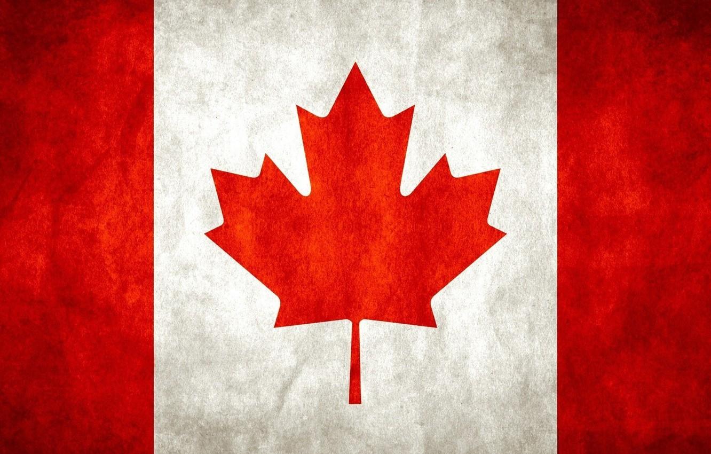 Фото обои флаг, Канада, Canada, flag