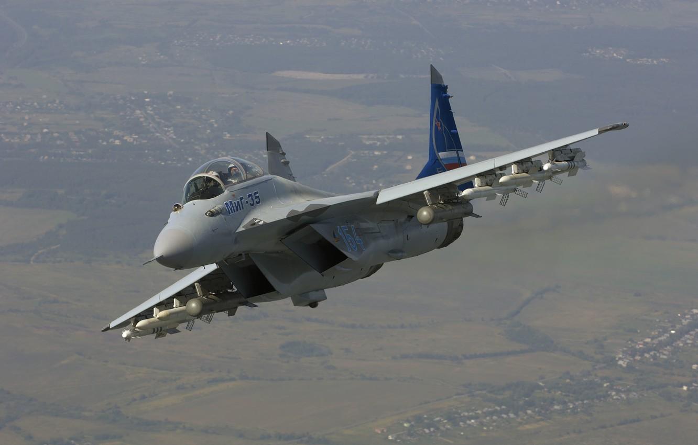 Обои МиГ 35, россия. Авиация foto 12