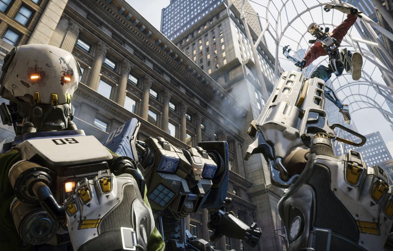Фото обои Epic Games, Key Art, Robo Recall