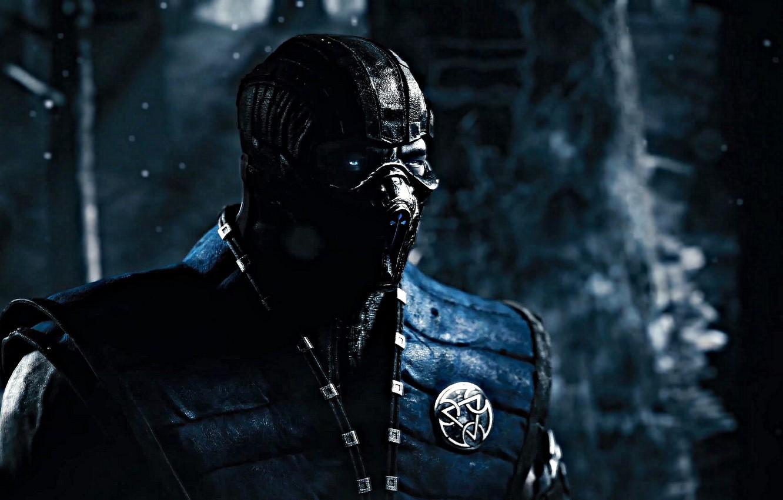 Фото обои Sub-Zero, Mortal Kombat X, Mortal Kombat 10, Ninja Ice