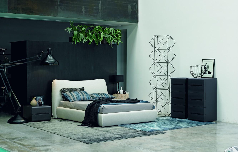 Фото обои дизайн, интерьер, design, спальня, modern, bed, модерн, bedroom