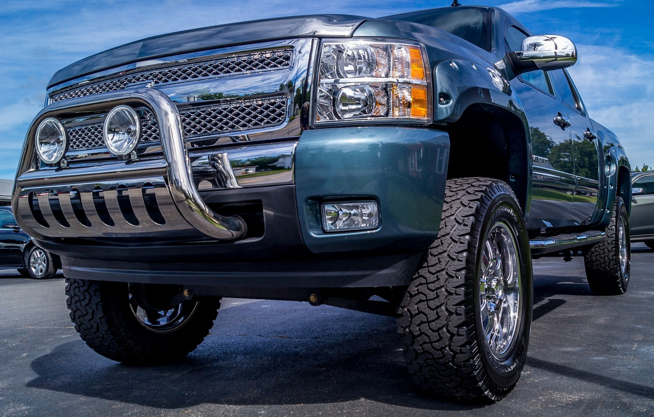 Фото обои hdr, Chevy, pick-up