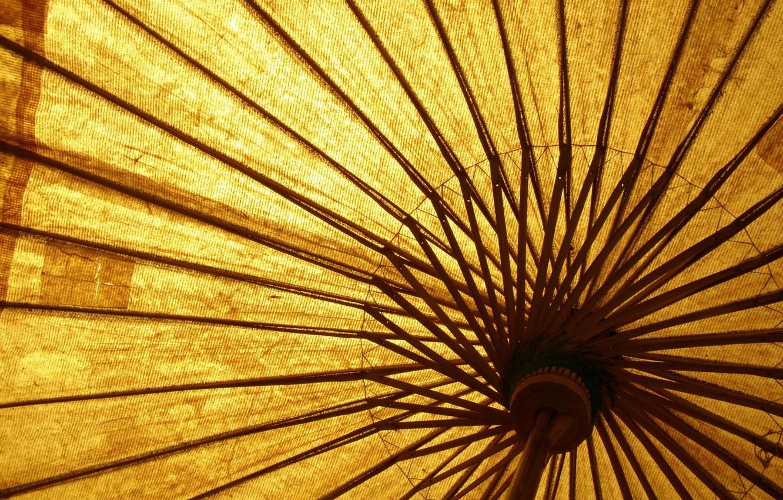 Обои двор, зонт, желтый. Разное foto 7