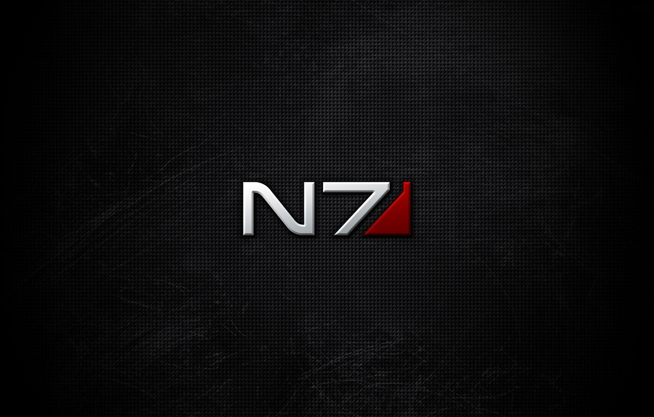 Фото обои фон, logo, mass effect