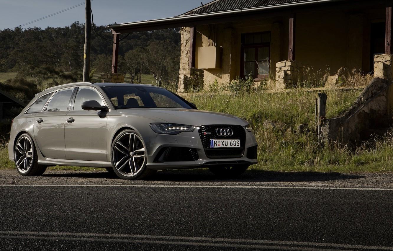 Фото обои Audi, ауди, универсал, Avant, RS 6, авант
