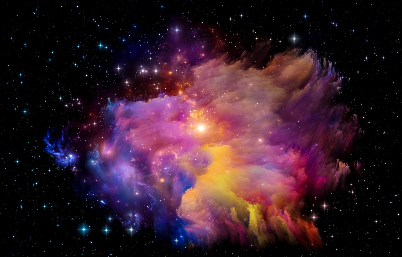 Обои space, universe, stars, background, вселенная. Абстракции foto 10