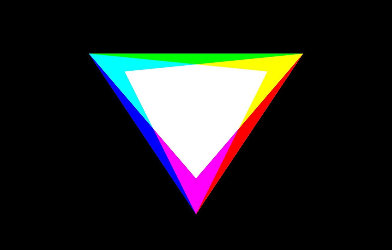 Фото обои цвета, минимализм, RGB, CMYK