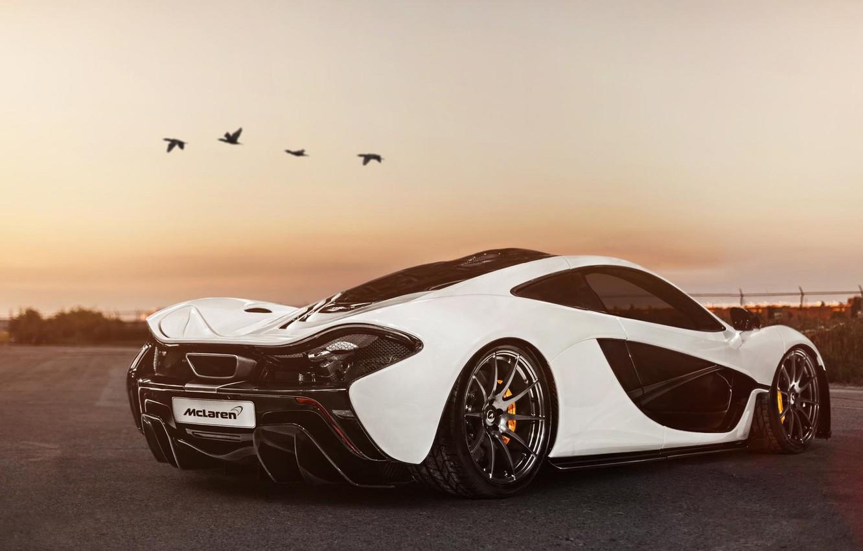 Фото обои McLaren, Суперкар