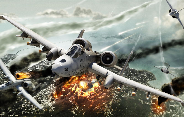 Обои A-10, Hawx, jet. Авиация foto 6