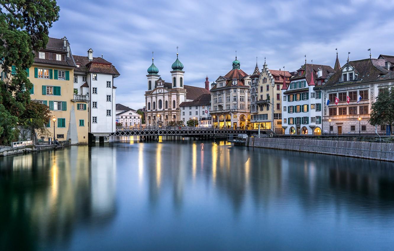 Обои люцерн, швейцария. Города foto 13