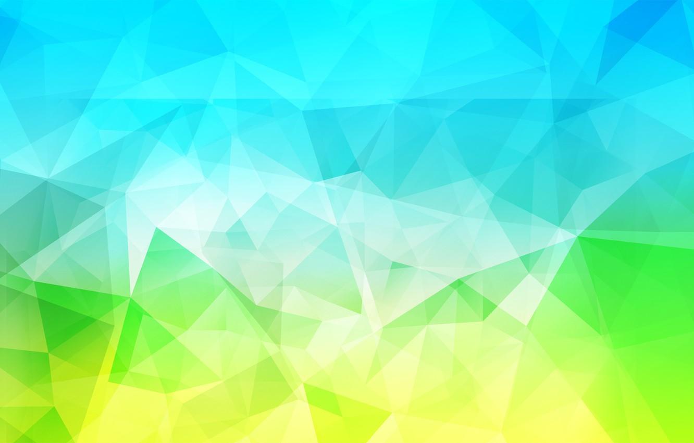 Фото обои свет, линии, цвет, объем, треугольник