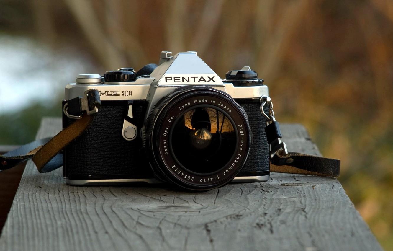Фото обои фон, камера, Pentax ME Super