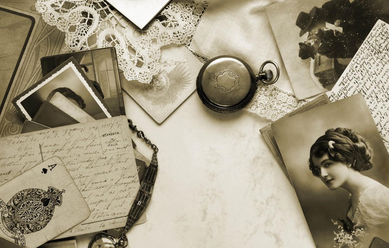 обои для рабочего стола старые открытки плитка