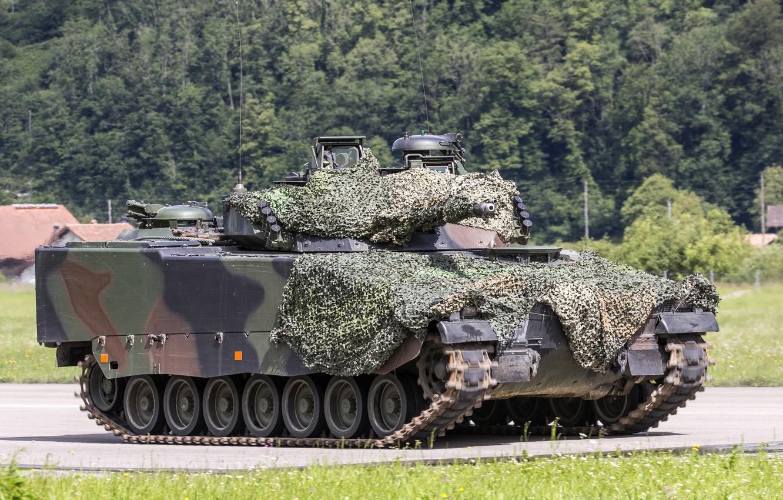 Фото обои машина, боевая, пехоты, CV90
