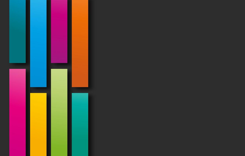 Обои colorful, background, geometry, colors, Abstract, shapes, rainbow. Абстракции foto 7