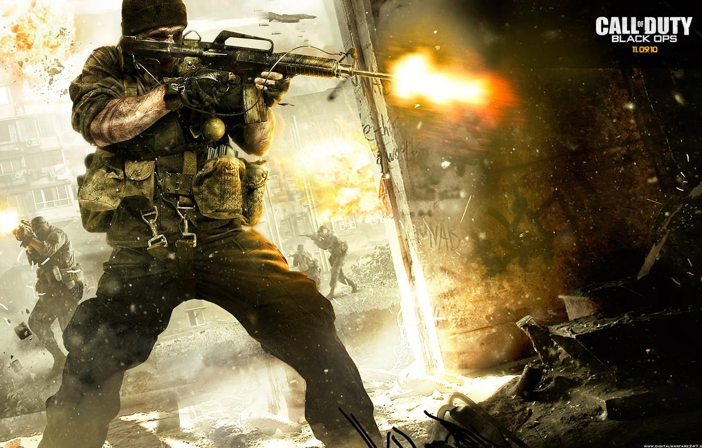 Фото обои game, call of duty, awesome, black ops